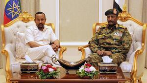 Etiyopya Başbakanı Ahmedten Sudanda ara buluculuk çabaları