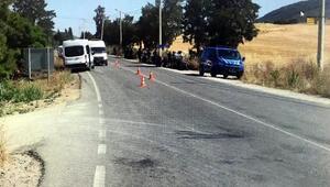 Minibüsle çarpışan kasksız motosikletli öldü