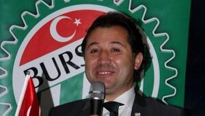 Bursasporda başkanlık için tek aday; Mesut Mestan