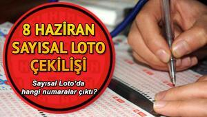Sayısal Lotoda 2 milyon 553 bin TL devretti 8 Haziran MPİ Sayısal Loto çekiliş sonuçları