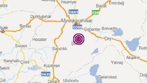 Afyonkarahisarda 3.5 büyüklüğünde deprem