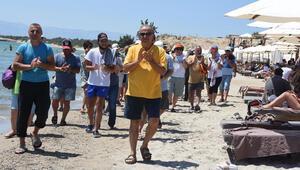 Halk plajını işgal ettiler isyanı