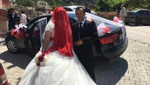 Evlenecek çiftlerin, düğün arabası tercihi kaldırılan makam araçları oluyor