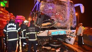 Adanada zincirleme kaza: En az 20 yaralı