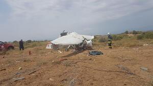 Antalyada eğitim uçağı düştü: 2 ölü, 1 yaralı