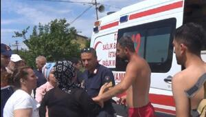 Silivride boğulma tehlikesi geçiren çocuk kurtarıldı