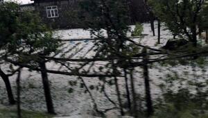 Konyada dolu yağışı etkili oldu