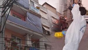 İzmirde baba vahşeti Kızlarına kurşun yağdırdı