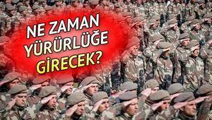 Yeni askerlik sistemi Mecliste görüşüldü Tek tip askerlik sistemi ne zaman yürürlüğe girecek
