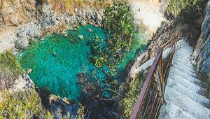 Türkiyenin doğal havuz cenneti Bu ilçedeki güzellikler sizi çok şaşırtacak...