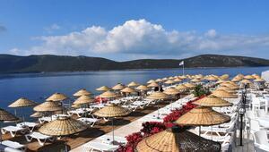 Bodrum Halk Plajı açıldı Giriş ücretsiz...