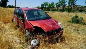 Adıyaman'da otomobil devrildi: 2 yaralı
