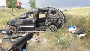 Otomobil şarampole uçtu; aynı aileden 7 yaralı