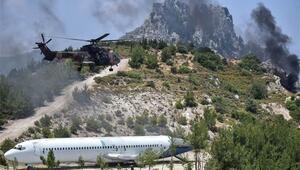 Kuzey Kıbrıs Türk Cumhuriyetinde nefes kesen tatbikat