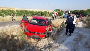 Adıyamanda iki otomobil çarpıştı 6 kiş yaralandı