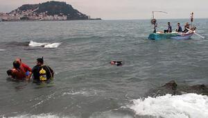 Giresunda denize giren çocuk boğuldu