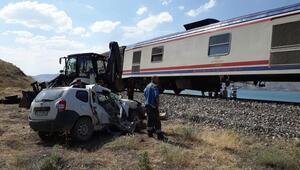 Elazığda tren kazası
