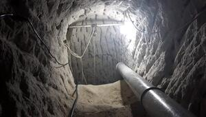 Burası Nevşehir Evin altına 20 metrelik tünel kazmışlar...