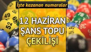 Şans Topunda ikramiye haftaya devretti | 12 Haziran MPİ Şans Topu sonuçları
