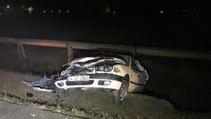Konyada iki otomobil çarpıştı: 5 yaralı