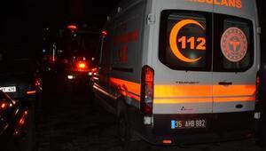 İzmirde apartman dairesinde yangın