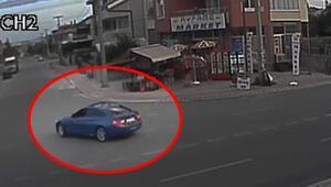 Drift yapan sürücüye ibretlik ceza