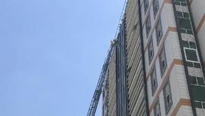 Bahçelievlerde 11 katlı iş merkezinde yangın