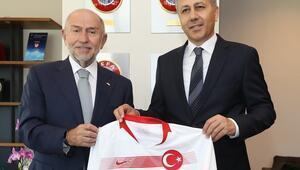 İstanbul Valisi Ali Yerlikayadan Nihat Özdemire ziyaret