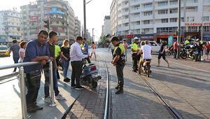 Polis geldi vatman güldü
