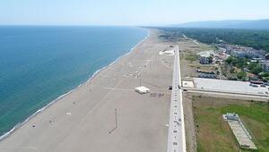 Tamamlandığında Türkiyenin en uzun plajı olacak