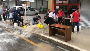 Sel mağdurlarına Büyükşehir desteği