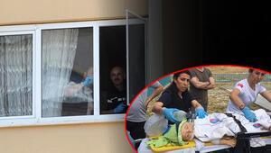 Korkunç olay Pencereden düşen bebek...