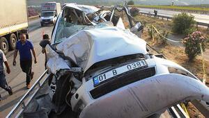 Feci kaza... Karı koca öldü, yaralılar var