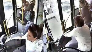 Zeliha Kaptan, kalp krizi geçiren yolcuyu böyle kurtardı