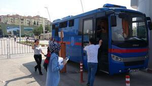 Geç kalanlar, cezaevi nakil aracı ile YKSye yetiştirildi