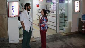Hastane önünde şok Hemşireye sözlü taciz sonrası ortalık karıştı