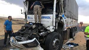 Şırnakta kamyonlar çarpıştı: 1 ölü