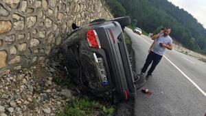 Zonguldakta yağmur kazaları: 14 yaralı