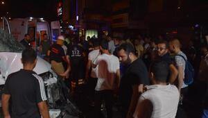İzmirde zincirleme kaza: 4 yaralı