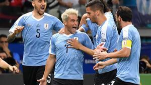 Uruguay Ekvadoru farklı geçti