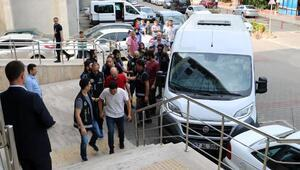 Zonguldakta, FETÖnün TSK yapılanmasında 10 şüpheli adliyede