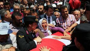 Şehit Jandarma Teğmen Evran, Afyonkarahisarda toprağa verildi