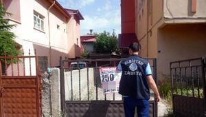 İzinsiz afiş asan 16 işletmeye 24 bin lira ceza