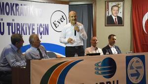 Soylu Türkiye Otobüsçüler Federasyonunu ziyaret etti