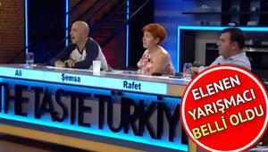 The Taste Türkiyeden bu hafta kim elendi