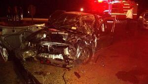 Sivasta 2 otomobil çarpıştı: 7 yaralı