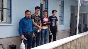 Ulukışla ilçesinde 4 kaçak göçmen yakalandı