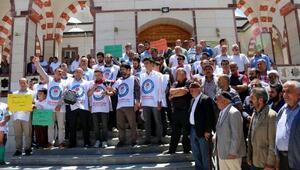 Ercişte Mursi için gıyabi cenaze namazı kılındı