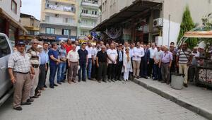 Yatağanda Muhammed Mursi için gıyabi cenaze namazı kılındı