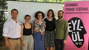 Fringe Festivali ilk yılında İstanbul'da
